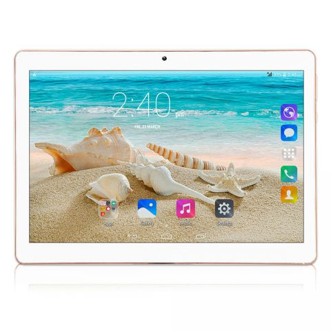 10.1'' IPS Tablet PC-Rose Gold EU Plug