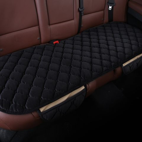 Black Elasticity Comfortable Car Rear Cushion