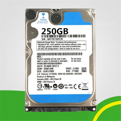 PC Hard Drive HDD 250GB