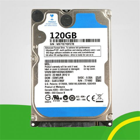 PC Hard Drive HDD 120GB
