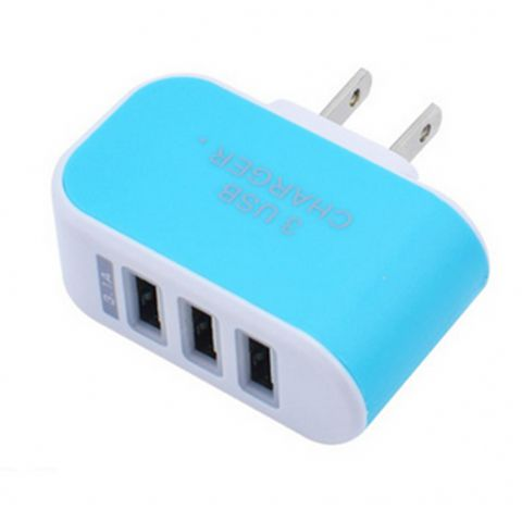 2A Multi Port USB Charger,3 Ports Adapter