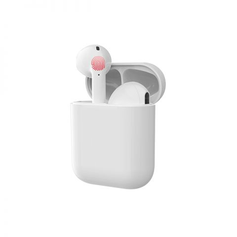 i17 Tws Touch Control Earphone White