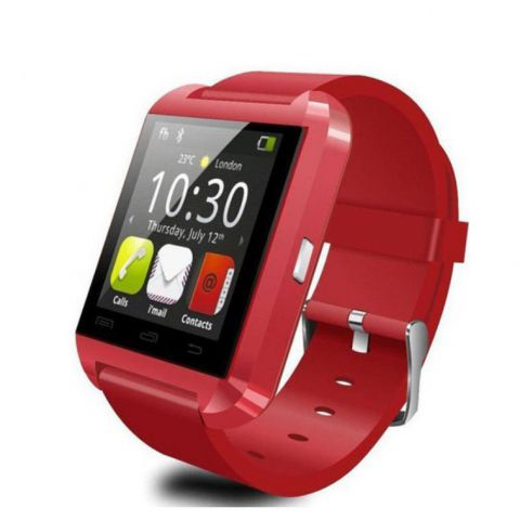 U8 Fashion Bluetooth Smart Watch - Red